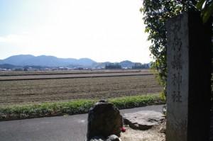 朽羅神社からの風景
