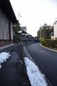 蚊野神社の社叢(田乃家神社〜蚊野神社)