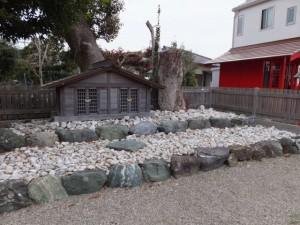 大世古町の浅間神社(伊勢市大世古)