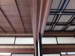 賓日館の「御殿の間」との天井比較(伊勢市二見町)