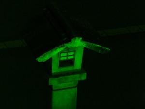 グリーンライトアップ(御幸道路の大鳥居付近)
