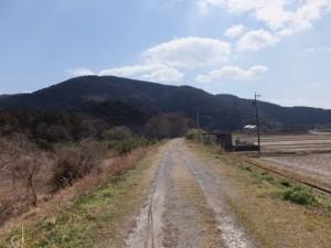 近鉄鳥羽線の高架橋〜御側橋(五十鈴川左岸)
