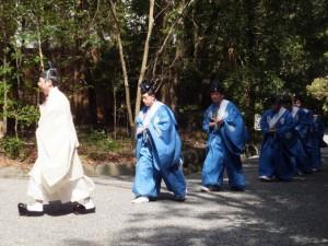上棟祭(伊佐奈岐宮)