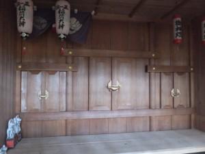 甘露花壽稲荷神社、仮殿 久志本社、秋葉神社(伊勢市神久)