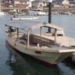 木造船みずき(海の駅 神社)