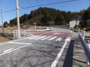 ホワイトハイツがある交差点から廣泰寺へ(度会郡玉城町宮古)