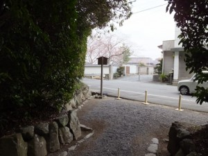 伊我理神社(井中神社を同座)、度会大国玉比賣神社からの風景