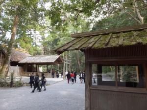 風宮と神宮衛士の番舎