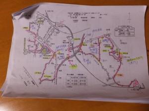 平成6年 お伊勢さん125社めぐり 外宮めぐりコースマップ
