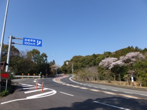 天の岩戸入口付近(伊勢道路)