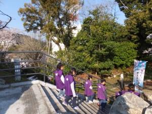 城山公園から大山祗神社へ(鳥羽市)
