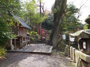 大山祗神社の獅子庫(鳥羽市)