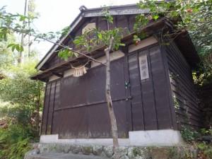 大山祗神社の神輿庫(鳥羽市)