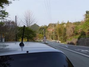 さくらの里公園200m[P]の案内板付近(大台町)