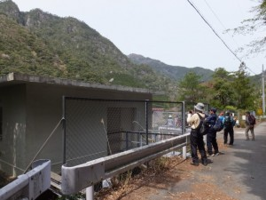 宮川ウォーク、宮川第一発電所取水口