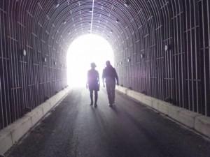 瀬戸の堀トンネル(宮川ウォーク、新大杉橋〜大杉谷自然の家)