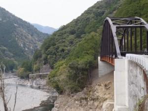 宮川ウォーク、持山橋付近