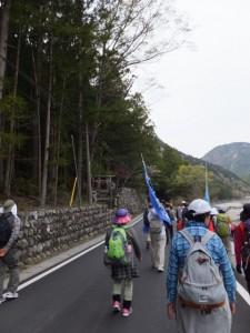 宮川ウォーク、持山橋〜カラスキ谷公園