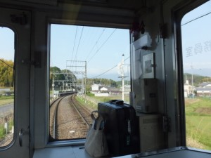 車窓の風景(近鉄 橿原神宮前駅から吉野駅へ)