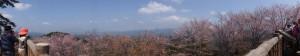 高城山展望台からの眺望