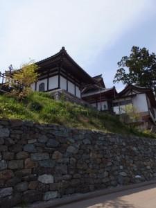 金峯山寺の石垣