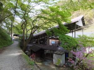 吉野山ロープウェイ 千本口駅付近