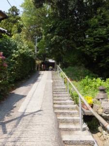 太江寺の参道
