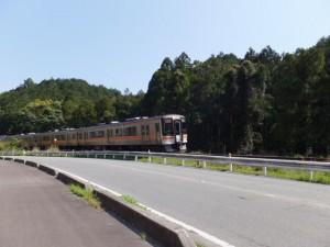 JR参宮線 池の浦シーサイド駅から松下駅への途中
