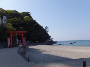 二見興玉神社、禊浜