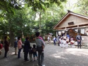 船江上社 朧ケ池渕まつり(伊勢市)