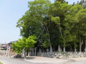 織殿神社(多気郡明和町)
