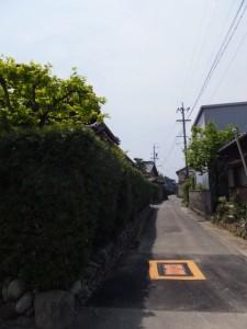 松阪市六根町(神服織機殿神社から神麻続機殿神社へ)