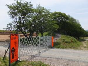 改修工事が開始された宮川堤、周防堤付近