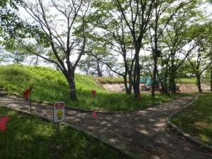 改修工事が開始された宮川堤