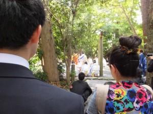 神田御田植初 田舞(大土御祖神社)