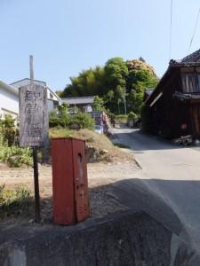 和歌山別街道から長谷観音道(観音参道)へ
