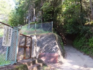 長谷配水池(長谷観音道)