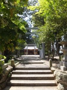 西外城田神社 (多気町野中)