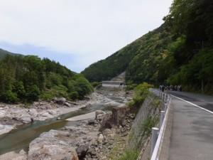 新春日谷橋〜上大井 バスのりば
