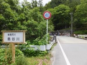 島谷橋(普通河川 島谷川)