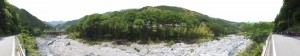 右岸から望む宮川(島谷橋〜南滝口 バスのりば)