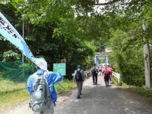 旧領内橋(宮川)へ