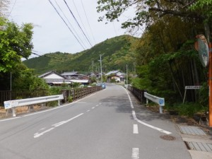 薗橋(奥伊勢フォレストピア 右折700mの案内板付近)