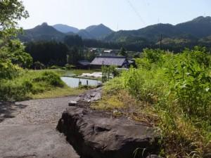 本田の渡し跡(宮川)への分岐