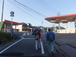 船木橋から大台町役場へ