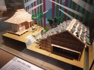 馬越峠の茶屋と石畳道(三重県熊野古道センター 展示棟)