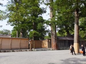 外宮 の新宮と旧宮