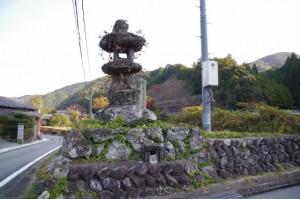 坂井の常夜燈(度会町坂井)