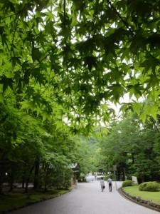 大山祗神社、子安神社から宇治橋へ