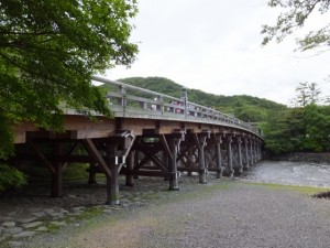 宇治橋(五十鈴川)
